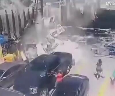 Kanada'da akılalmaz kaza