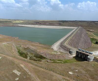 Kilis'in su problemine son verecek baraj doldu