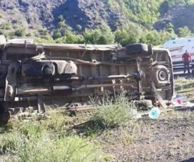 Ordu'da gezi dönüşü kaza: 1 ölü, 7 yaralı
