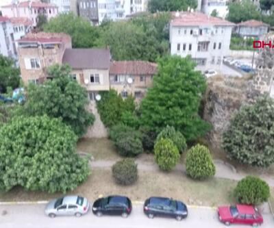 Sinop Kalesi'nde konut işgali