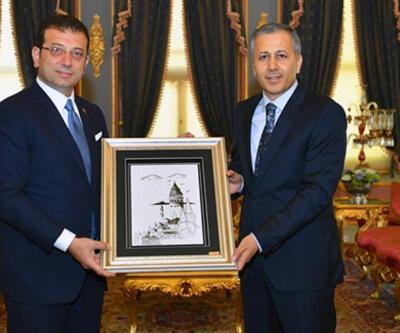 İmamoğlu, İstanbul Valisi'ni ziyaret etti