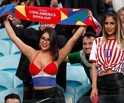 Copa America'ya damga vurdular