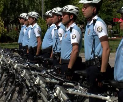 Başkent'te 'Bisikletli Martı Timleri' asayişi sağlayacak