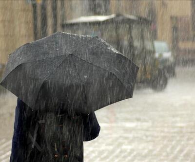 Meteoroloji uyardı: Trakya ve Doğu Karadeniz'de sağanak yağışa dikkat!