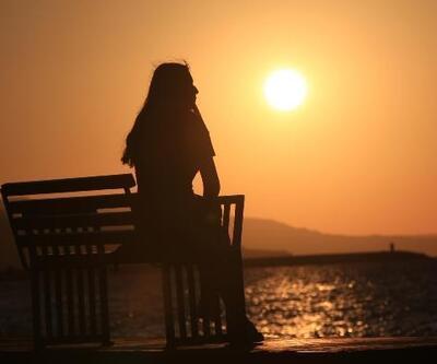Karadeniz'de gün batımı güzelliği