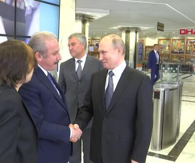 Şentop Putin ile görüştü