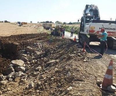 Gelibolu'da Ocaklı ve Güneyli yolları onarıldı