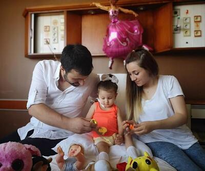 2 yaşındaki Melisa'ya babasından böbrek