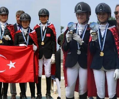At Terbiyesi Balkan Şampiyonası'nda Türkiye'den büyük başarı