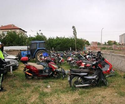 Şarkışla'da 69 motosiklet trafikten men edildi