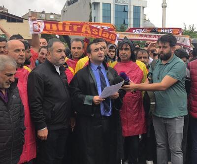 Galatasaray taraftarı Çağlayan Adliyesi'nde