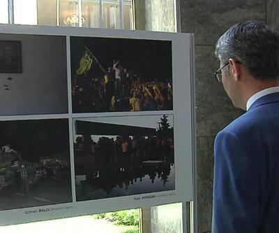 Mustafa Şentop 15 Temmuz sergisini açtı