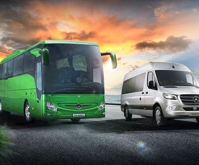 Mercedes'ten turizmcilere 2 yeni model