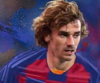 Griezmann resmen Barcelona'da! 120 milyon euroluk transfer...