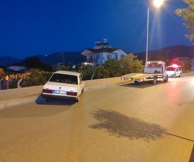 Drift yapıp polisin 'dur' ihtarına uymayan alkollü sürücüye ceza