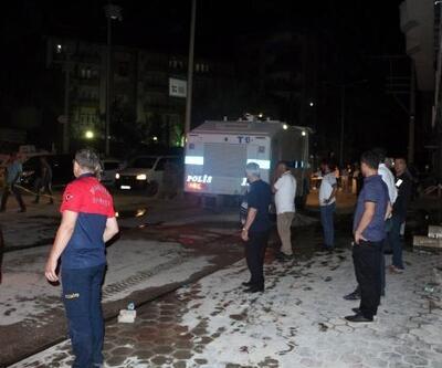 Kızıltepe'de mağazada yangın