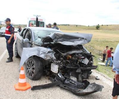 Salda Gölü yolunda kaza: 9 yaralı