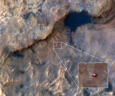 NASA'nın Kızıl Gezegen'deki göz bebeği böyle görüntülendi!