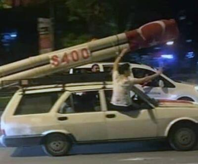 Bursa'da S-400 maketli araç ilgi gördü