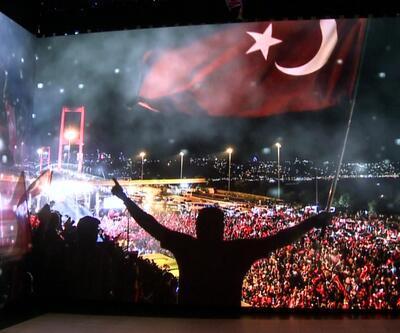 Taksim Meydanı'na 15 Temmuz'u anlatan dijital gösteri merkezi