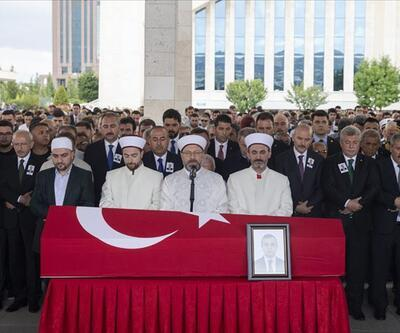 Şehit diplomat Osman Köse son yolculuğuna uğurlandı