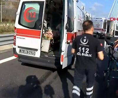 Yavuz Sultan Selim Köprüsü'nde kaza! Yaralılar var