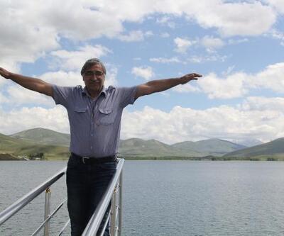 Bayburt'ta baraj gölünde tekne turu keyfi