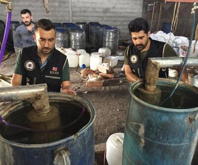 Adana'da 22 bin sahte içki ele geçirildi
