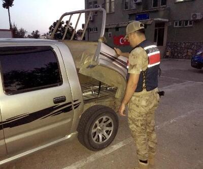 Hassa'da 4 bin paket kaçak sigara ele geçirildi