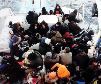 Muğla'da 62 düzensiz göçmen yakalandı