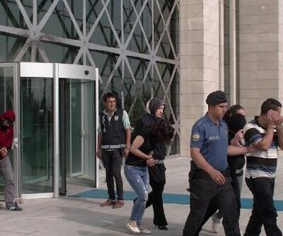 22 ev ve iş yerinden hırsızlığa 6 tutuklama