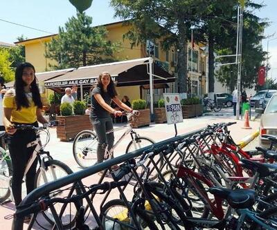 Vize Belediyesi'nden vatandaşlara ücretsiz bisiklet