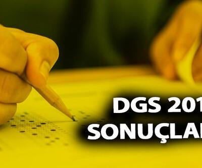 DGS 2019 sonuçları ÖSYM sonuç sayfasında