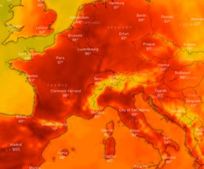 Avrupa yanıyor! NASA'nın yayınladığı harita korkuttu