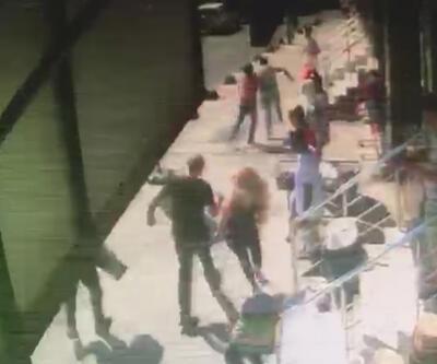 Yer: İstanbul... Topuklu ayakkabılarla tacizciye amansız takip kamerada