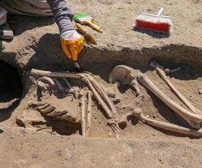 Van'da kafatası olmayan 2 bin 700 yılık kadıniskeleti bulundu