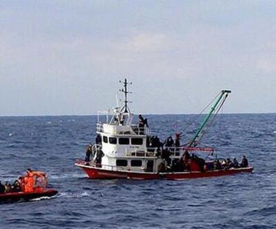 İzin verildi! Göçmenler karaya çıkıyor