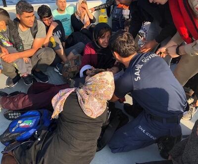 Ege Denizi'nde 65 düzensiz göçmen yakalandı