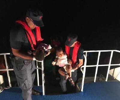 Urla'da 55 kaçak göçmen yakalandı