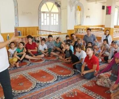 Burhaniye'de camilerde hijyen eğitimi veriliyor