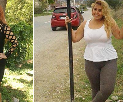 2 yılda 74 kilo verdi