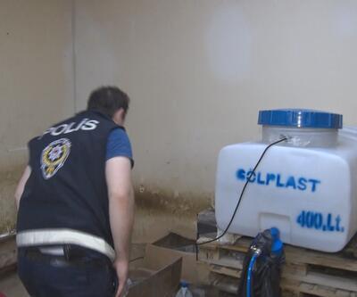 Gaziosmanpaşa'da sahte içki operasyonu: 2 gözaltı