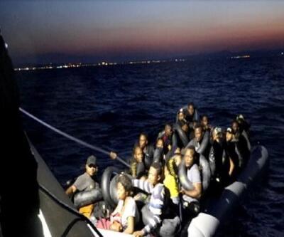 Balıkesir'de 51 kaçak göçmen yakalandı