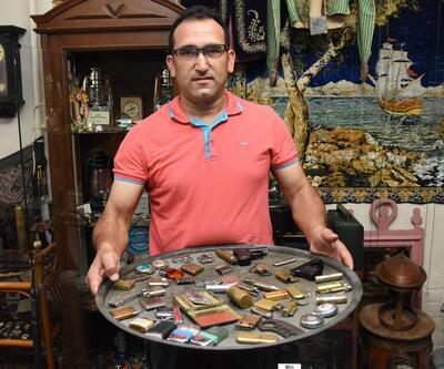 Çakmak koleksiyonunu satışa çıkardı