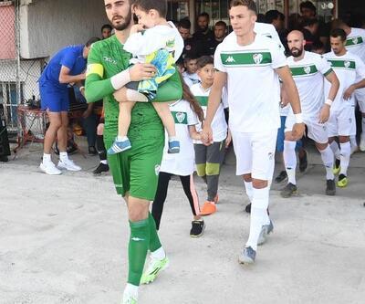Bursaspor-Ümraniyespor maçında anlamlı uygulama
