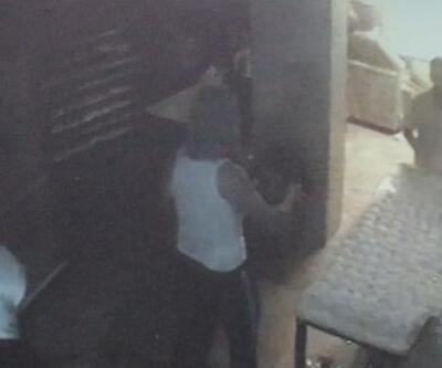 Sultangazi'de silahlı fırın soygunu kamerada