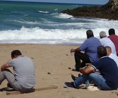 Şile'de denize giren genç kayboldu