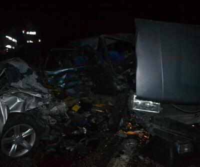 Kahramanmaraş'ta iki otomobil çarpıştı: 2 yaralı