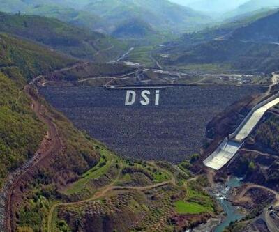 19 Mayıs Barajı'nda su tutma işlemine başlandı
