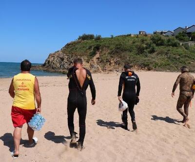 Şile'de denizde kaybolan 17 yaşındaki genci arama çalışmaları 3. gününde